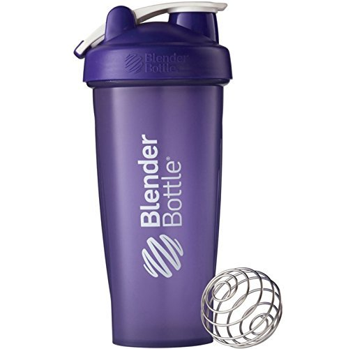 Blender Bottle Classic 28 oz. Shaker with Loop Top_ Purple color
