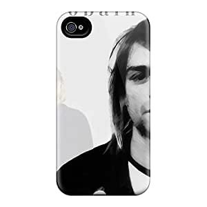 InesWeldon Iphone 6plus Bumper Hard Phone Case Custom Attractive Kurt Cobain Pattern [feN17340fATd]