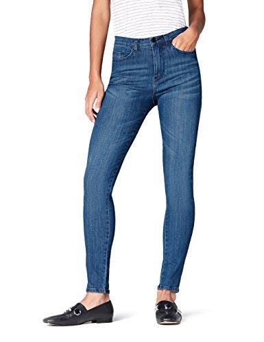 Bleumid Skinny Femme FindJean Taille Normale Wash QCsthrdx