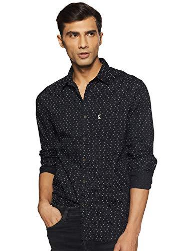 Newport University Men's Regular fit Casual Shirt