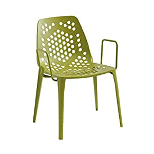 Pattern Garden Armchair green