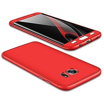 ,+Panzerglas Displayschutzfolie,3 in 1 Ultra D/ünn 360 Full Body Anti-Kratzer Hart PC Skin Glatte R/ückseite Bumper Blau JMGoodstore H/ülle Kompatibel Samsung Galaxy J2 Pro 2018