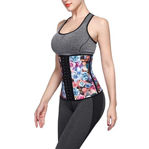 Allywit Women Petite Steel Boned Waist Trainer Underbust Corset Short Torso Mesh Body Shaper by Allywit (Image #3)