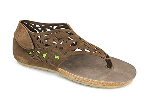 Materia Prima Tonga Womens Thong Sandals Brown -