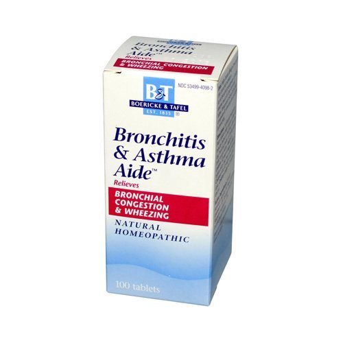 Boericke and Tafel Bronchitis and Asthma Aide – 100 Tablets