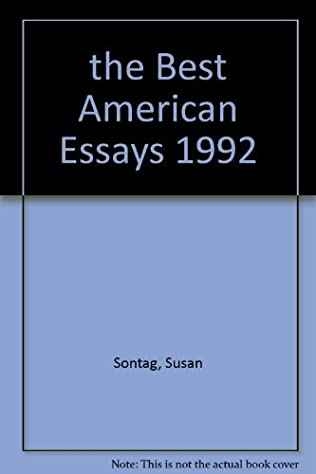 Essay About English Class Book Cover Of The Best American Essays About English Language Essay also Teaching Essay Writing To High School Students The Best American Essays By Susan Sontag An Essay On Newspaper