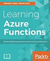 Learning Azure Functions Front Cover