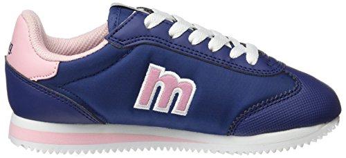MTNG Unisex-Kinder Chapito Sneakers Mehrfarbig (Action Pu Marino / Raspe Rosa Palo)