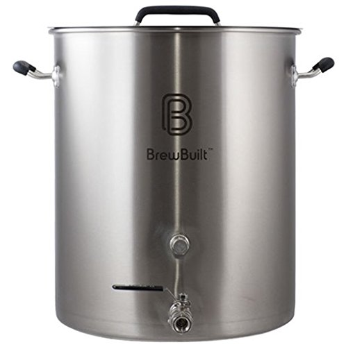 10 Gallon Stainless Steel Brew Built Home-Brew (Boilermaker Brew Pot)