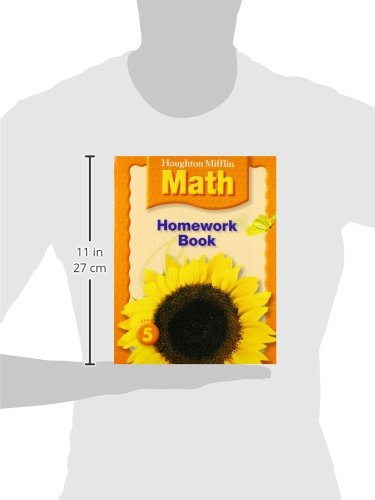 Math Worksheets houghton mifflin math worksheets grade 5 : Houghton Mifflin Math: Homework Book (Consumable) Grade 5 ...