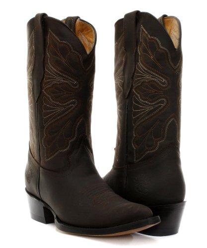 Slijpmachines Dallas Bruine Dames Cowboylaarzen