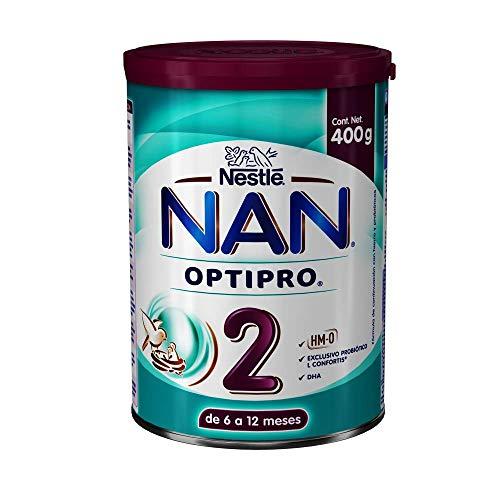 NAN Fórmula Infantil 2 Optipro, 400Gr
