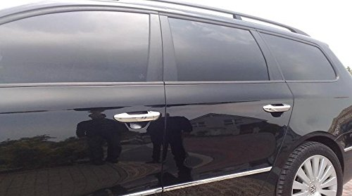 Tiradores para puerta Volkswagen de cromados, de acero inoxidable (embellecedores): Amazon.es: Coche y moto