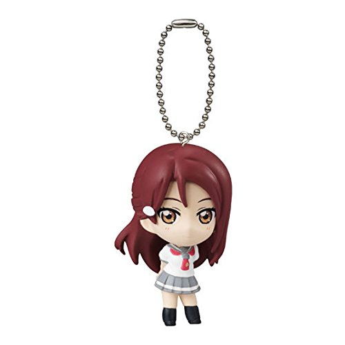 (Love Live! School Idol Project Sunshine!! Mini Mascot Keychain / Swinger Part 01 Gashapon - Riko Sakurauchi)