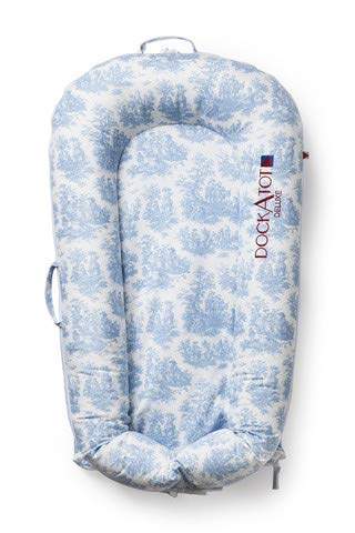 - DOCK A TOT Grand Cover ONLY Blue Toile
