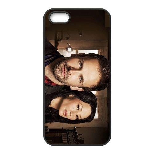 Elementary 3 coque iPhone 4 4S cellulaire cas coque de téléphone cas téléphone cellulaire noir couvercle EEEXLKNBC24798