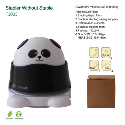 Stapler without staples (Panda design)