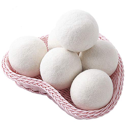 Wool Dryer Balls 6-Pack XL, 2.96