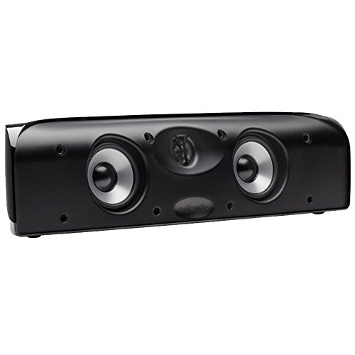 Polk Audio TL1 - Caixa acústica central para Home Theater 125w RMS Preto