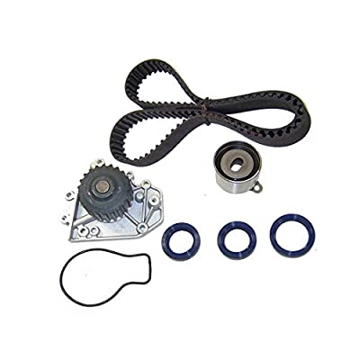 DNJ TBK217WP Timing Belt Kit with Water Pump/For 1992-1995 / Acura, Honda/Civic del Sol, Integra / 1.6L, 1.7L / DOHC / L4 / 16V / 1678cc, 97cid / B16A3, B17A1: Automotive