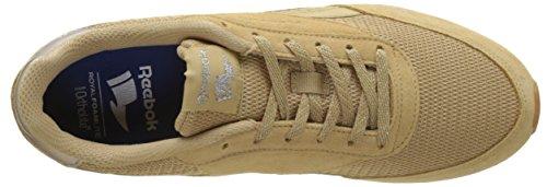 Sleek Donna Classic Beige White 2 Sneaker Gum Met Royal Beige Jogger Reebok wgqS844