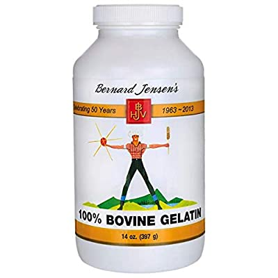 100% Bovine Gelatin 14 Ounce (397 Grams) Pwdr: Health & Personal Care