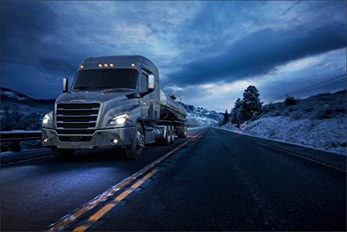 Innerwallz Trucks Roads 2016-17 Freightliner Cascadia Mid-roof XT Motion Cars Wall Art, Pop Art, Poster, Art Prints | Rare Posters