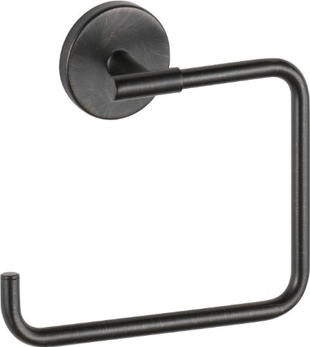 Delta Faucet 759460-RB Trinsic, Towel Ring, Venetian Bronze (Trinsic Towel Ring)