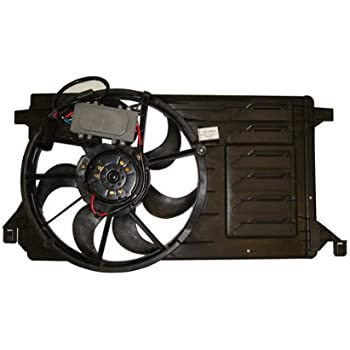TYC 622510 Replacement Cooling Fan Assembly Compatible with Mazda CX-7