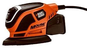 Black & Decker/Dewalt MS800B Mouse Detail Sander, With Dust Trap Collection System, Contour Attachments by Black & Decker/Dewalt