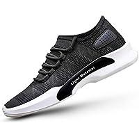 Tsumbay Kruchika Men's Black Men's Spring Sole Series Mesh Smart Casual, Walking,Gymwear, Running Shoes