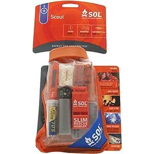 S.O.L Survive Outdoors Longer Scout Survival Kit