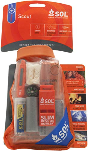 S.O.L Survive Outdoors Longer Scout Survival Kit ()