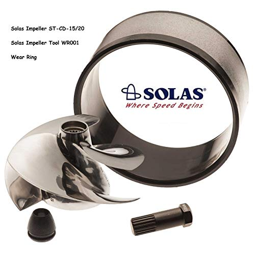 Solas Sea Doo Impeller ST-CD-15/20 951 Limited DI with Wear Ring and -