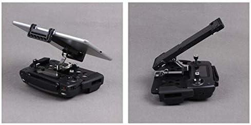 Linghuang Support Pliable de Téléphone de Tablette à Télécommande Drone pour DJI Mavic Mini/Mavic Pro/Mavic Air/Spark (Noir)