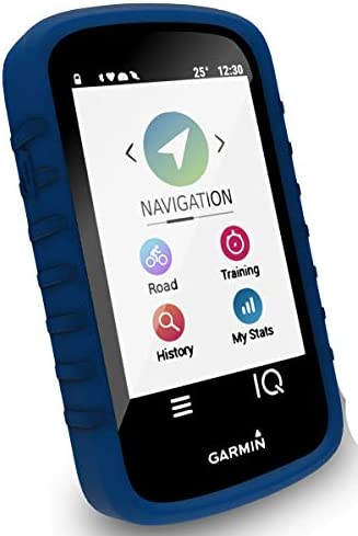 TUFF LUV Silicone case and Screen Protection for Garmin Edge 530 - Blue
