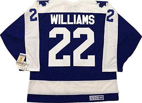 san francisco 7e9d6 6a714 Dave Tiger Williams Toronto Maple Leafs CCM vintage jersey ...