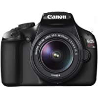 Canon Digital SLR Camera EOS Kiss X50 with EF-S18-55mm IS II Lens Kit (Black) - International Version (No Warranty)