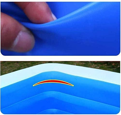 BWJL Fast Set Piscina Gonfiabile, Piscina Centro Famiglia Giardino Giocattoli da Spiaggia Gonfiabile per la Vita all'Aria Aperta Giardino Estivo,Una