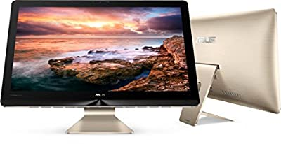 """Asus Zen 23.8"""" Ultra HD 4K Touch All-in-One AIO Pro Computer, Intel Quad-Core i7-6700T up to 3.60GHz, 12GB DDR4, 1TB HDD + 8GB SSD, NVIDIA GTX 960M, 3D Webcam, HDMI, Windows 10 (Certified Refurbished)"""