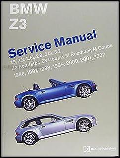 bmw z3 service manual 1996 1997 1998 1999 2000 2001 2002 rh amazon com 2000 BMW M Convertible 2000 BMW Coupe