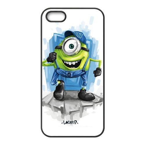 Monsters University MV65LW2 coque iPhone 5 5s cellulaire cas de téléphone coque T6KQ0A0SX