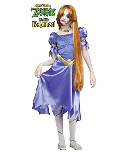 Rapunzel Costumes For Teens (Once Upon a Zombie Rapunzel Girls/ Teen Costume)