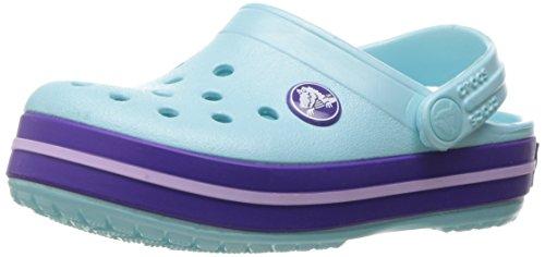 crocs Unisex-Kinder Crocband Clog Kids Blau (Ice Blue)
