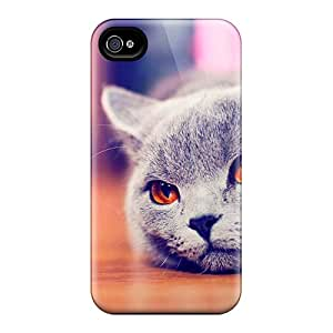 Premium Protection Cute Kitty Cat Cases Covers For Iphone 6- Retail Packaging