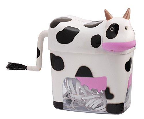 Mini Cow Paper Shredder Manual Hand Crank Stright Cut Cosa Nova