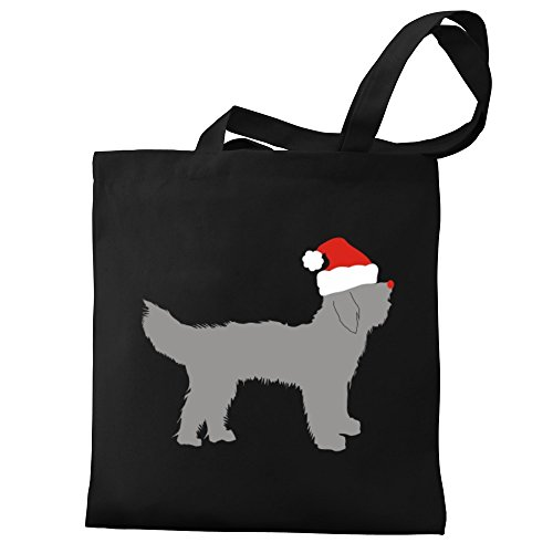 christmas Goldendoodle Bag Canvas Tote Goldendoodle christmas Tote Eddany Canvas Bag Eddany Eddany 1FwwgExq