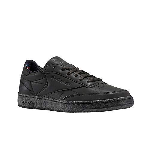 Reebok Club C 85 Tdg (Black/Silver MET/Coal) Men's Shoes BS6470