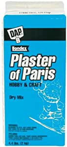 Dap Plaster of Paris Box Molding Material, 4.4-Pound, White