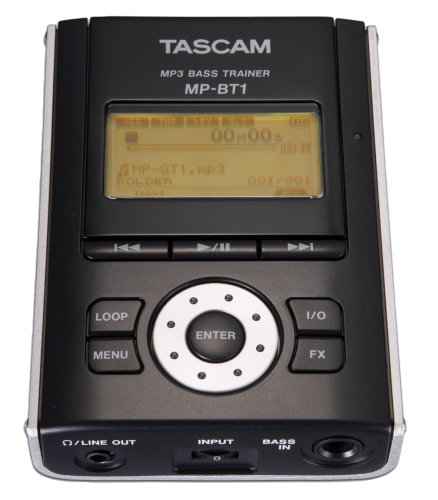 Tascam Bass Trainer - Tascam MP-BT1 Portable MP3 Bass Guitar Trainer